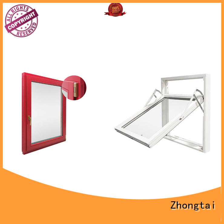 Zhongtai safety fire rated windows company for building