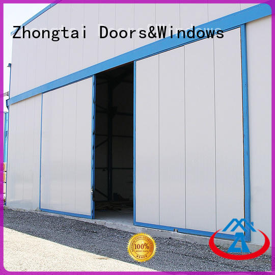 Wholesale industrial sliding door customized company for industrial zone