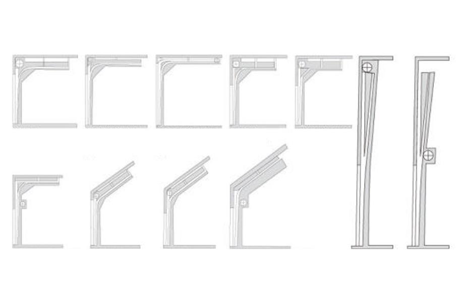 Zhongtai-Best Industrial Garage Doors Industrial Sectional Vertical Lifting Door-4