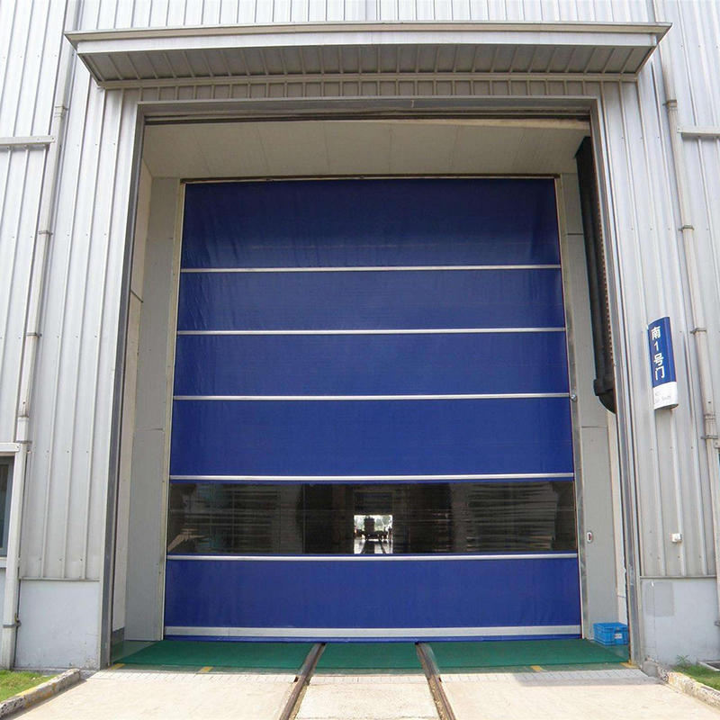 Automatic Industrial PVC Fabric High Speed Roller Shutter Door