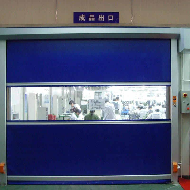 Zhongtai-Automatic Industrial Pvc Fabric High Speed Roller Shutter Door- Zhongtai-1