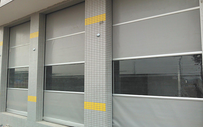 Zhongtai-High Speed Shutter Door Fast Rapid Rolling Door | Roller Shutter