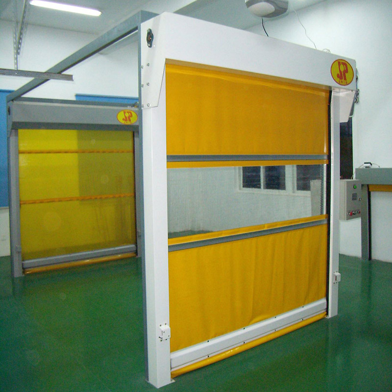 Zhongtai-High Speed Shutter Door Fast Rapid Rolling Door | Roller Shutter-1