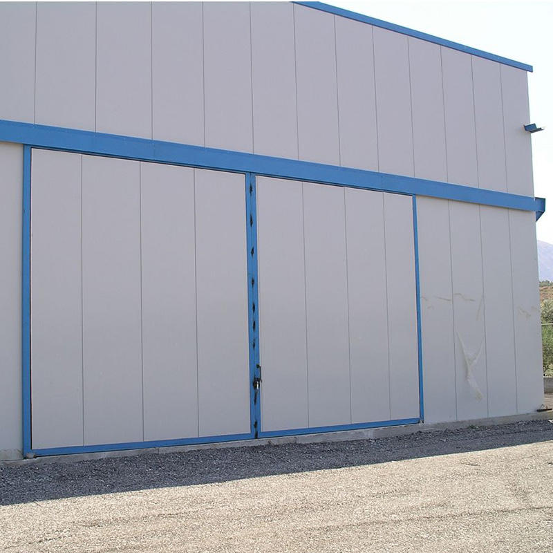 Light Weight Aluminum Industrial Sliding Door