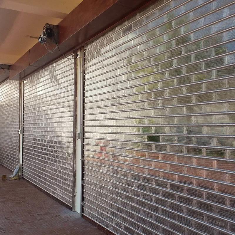 Good Vision Transparent Polycarbonate Rolling Door