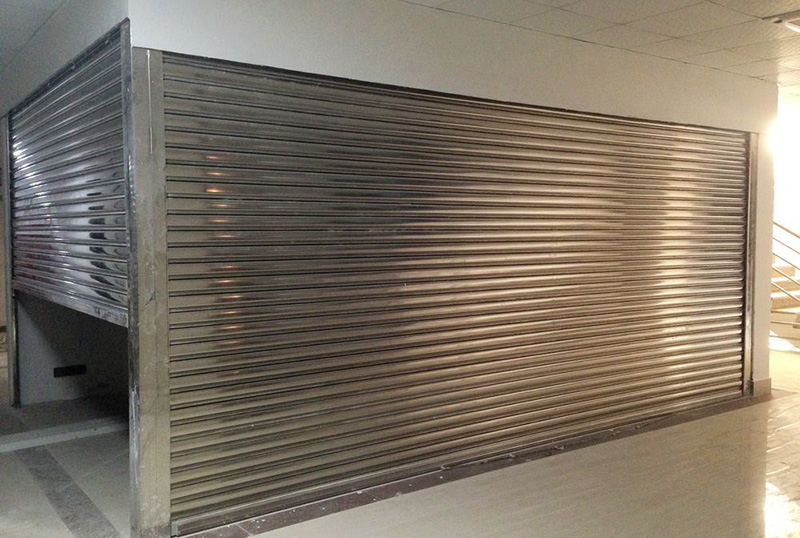 Zhongtai-Commercial Steel Doors Manufacture | Electric 304 Stainless Steel Rolling Door-1