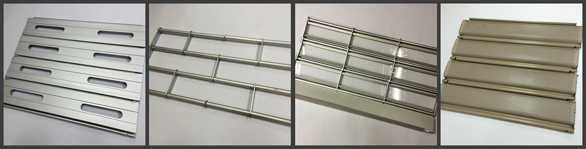 Zhongtai-Security Stainless Steel Grilles Roller Shutter Door - Zhongtai-2