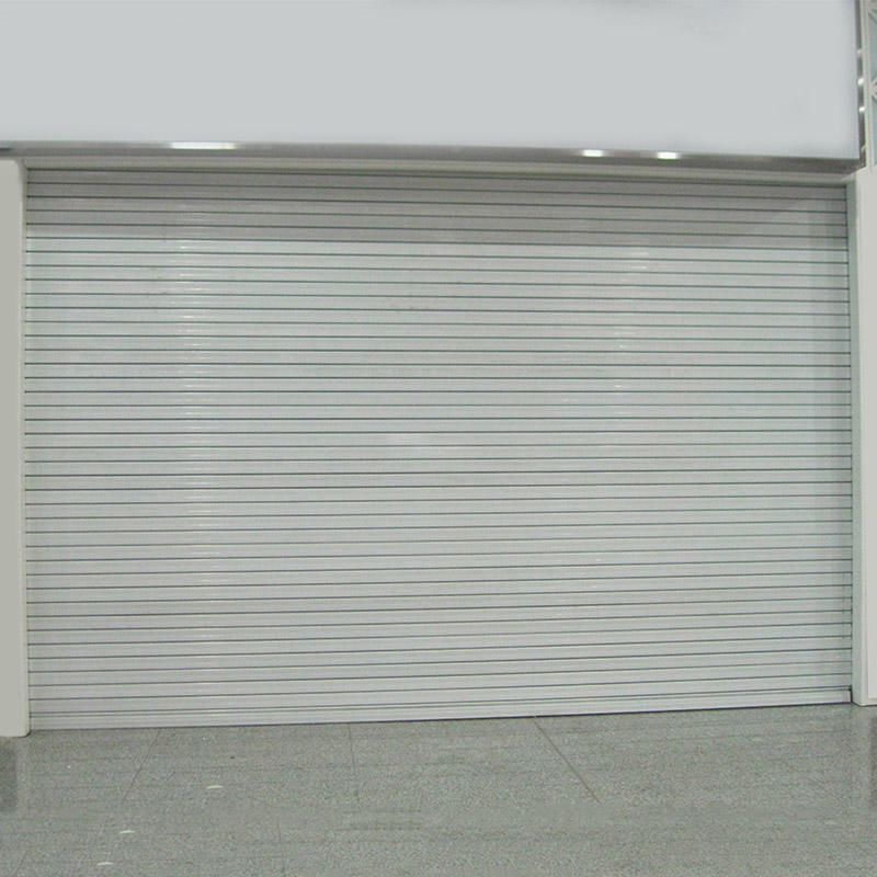 Composite steel fireproof shutter door