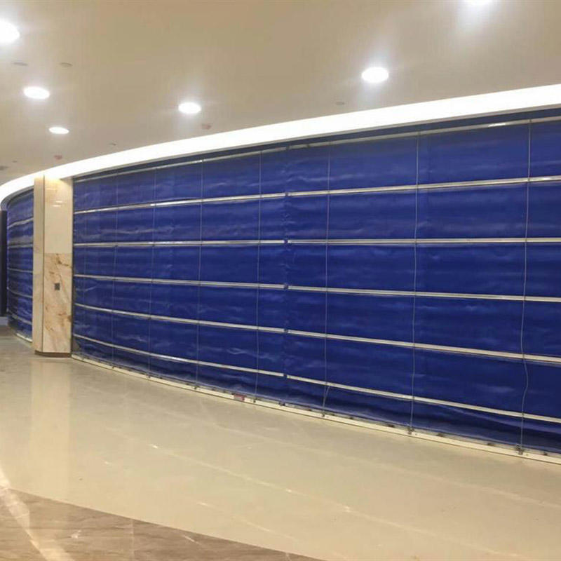 Super Inorganic Fabric Folding Fireproof Rolling Shutter