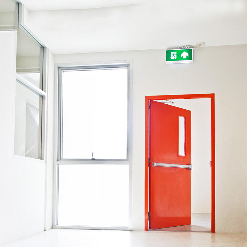 Fire-rated Commercial Steel Emergency Door