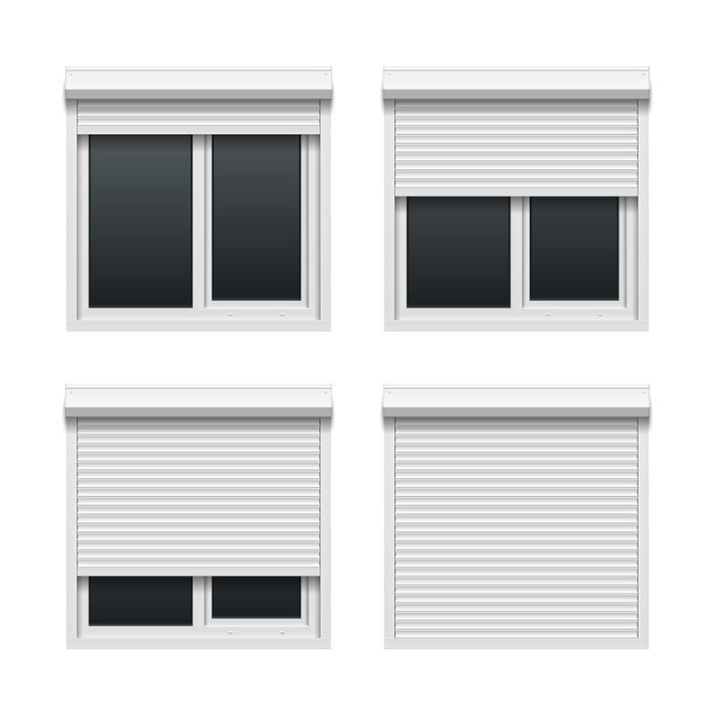 Fancy Commercial Thermal Insulation Shutter Door