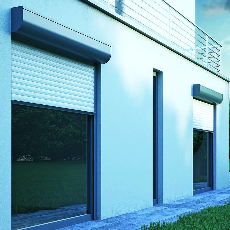 Hollow Aluminium Rolling Shutter Door and Window