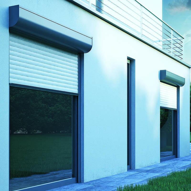 Hollow Aluminium Rolling Shutter Door and Window