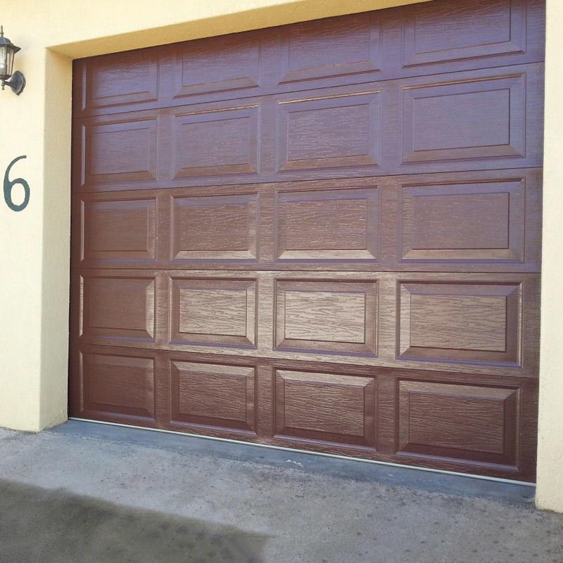 Customized Spectacular Single Garage Door for Home Decor