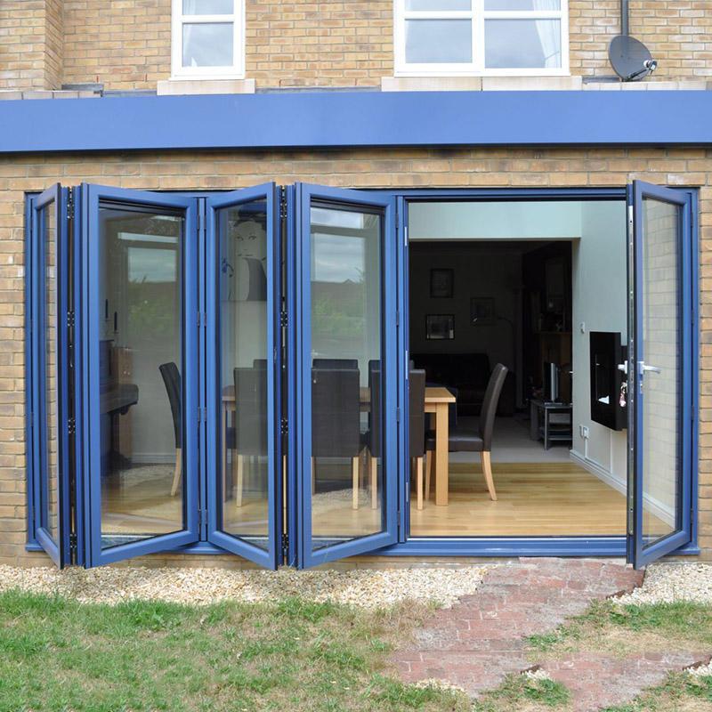 Thermal Insulation High Quality Aluminum Bi-fold Door