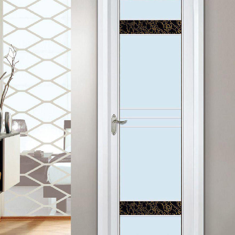 Customized Aluminum Frame French Swinging Glass Door