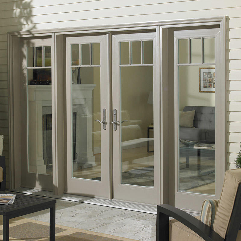 Top Quality Aluminum Frame French Swing Door