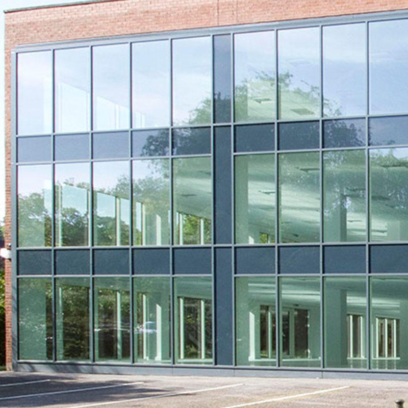 Spectacular Glass Vision Curtain Wall