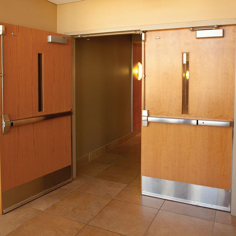 Zhongtai-High-quality Fire Resistant Door | Fire-rated Commercial Emergency Door-1