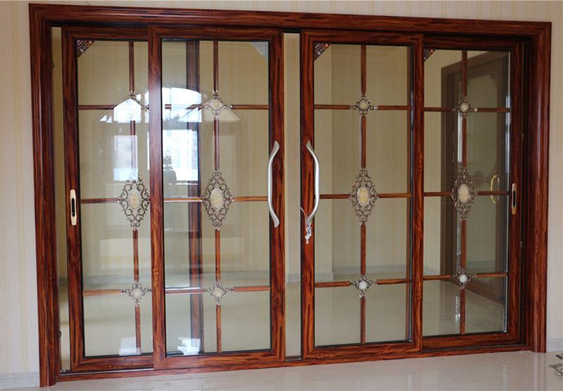 Zhongtai-Aluminum Frame Tempered Glass Sliding Patio Door- Zhongtai