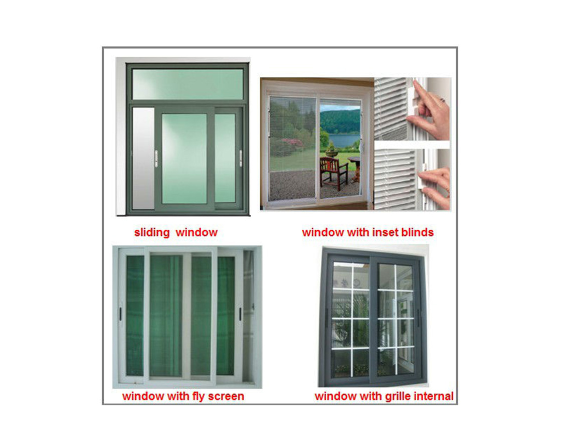 Zhongtai-Manufacturer Of Aluminium Sliding Window Aluminum Frame Tempered Glass-1