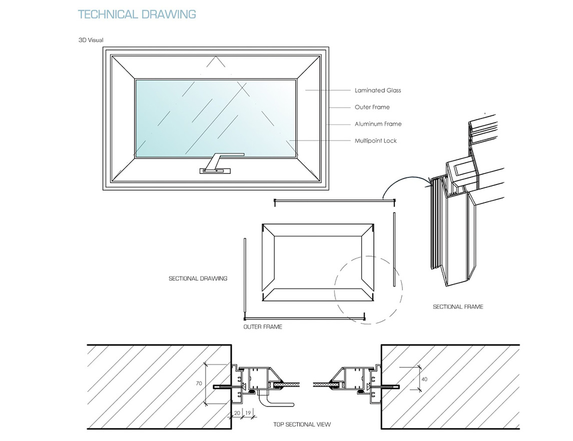 Zhongtai-High-quality Aluminum Windows Price | Modern Style Aluminum Hung Window-4