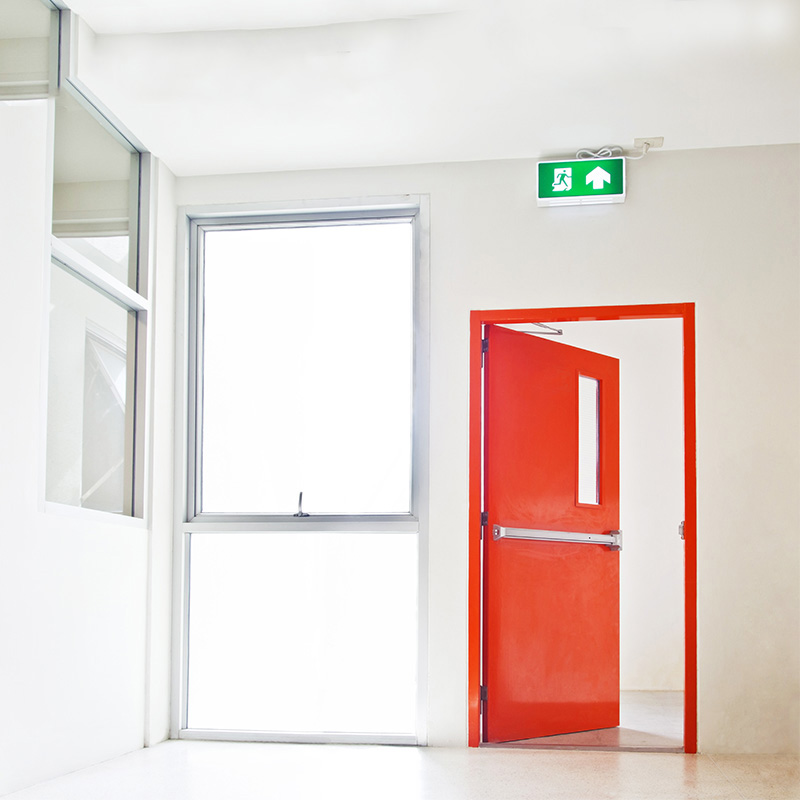 Zhongtai-Find Manufacture About Fire-rated Commercial Steel Emergency Door-2