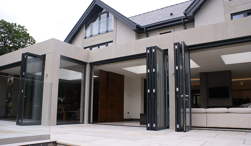 Zhongtai-Professional Custom Aluminum Frame Folding Sliding Door Supplier