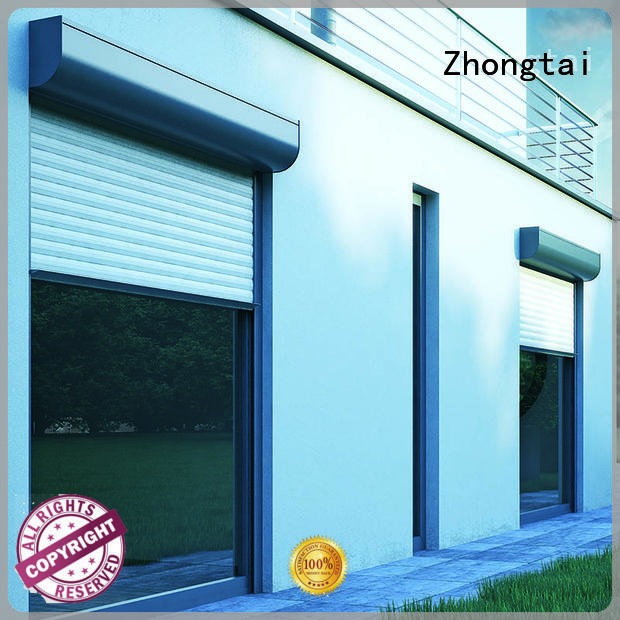 durable aluminum roller shutter anti-theft Zhongtai company