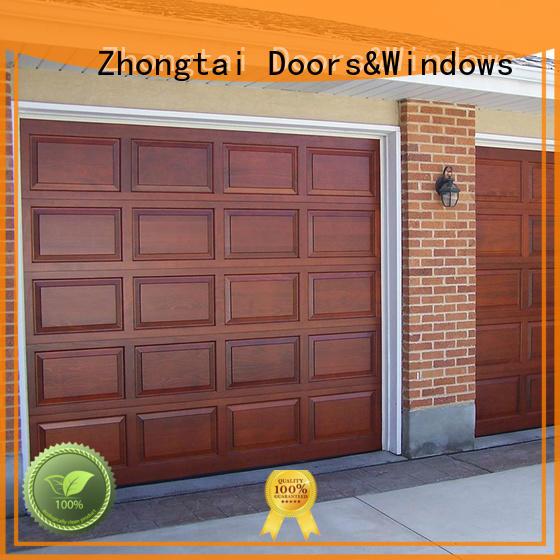 garage door retailers automatic Zhongtai Brand garage doors for sale