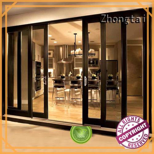 Zhongtai patio aluminium sliding door for business for villa