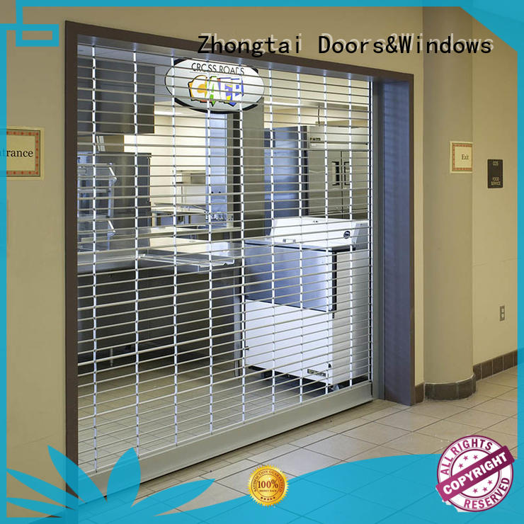 Zhongtai high quality security grilles manufacturer for bank
