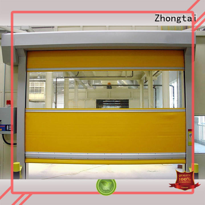 Quality Zhongtai Brand rapid automatic speed door