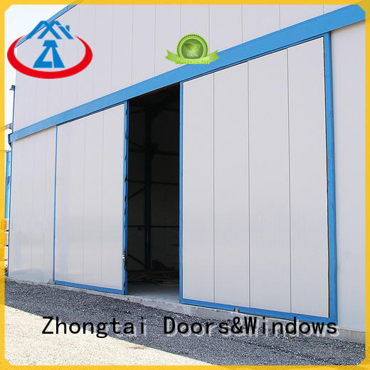 Zhongtai performance industrial roller doors factory for industrial zone