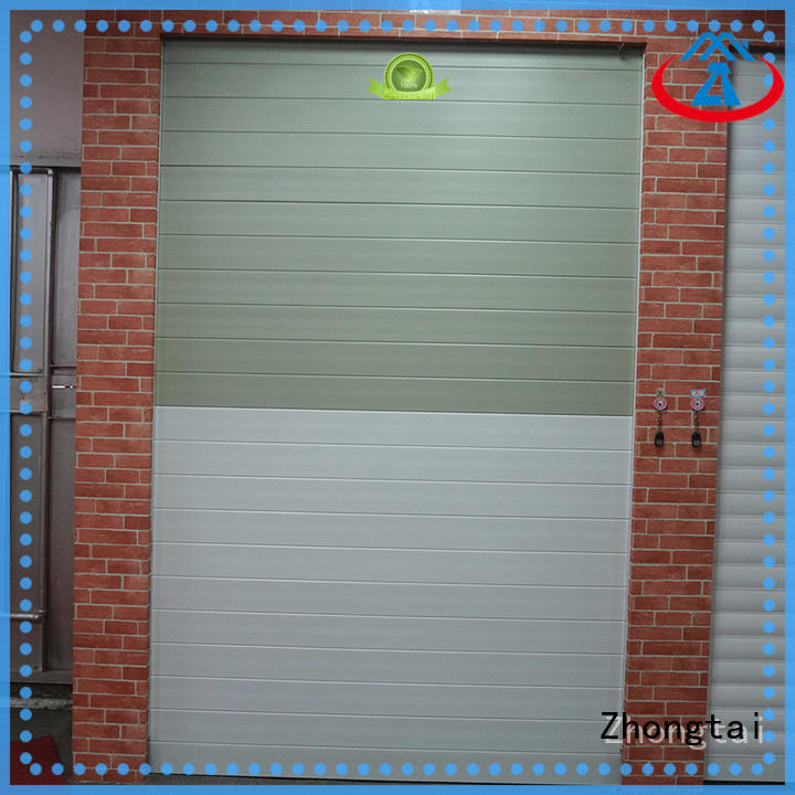 Zhongtai New hurricane doors manufacturers for garage