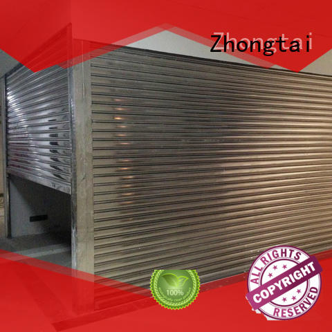 Zhongtai automatic steel roll up doors suppliers for house