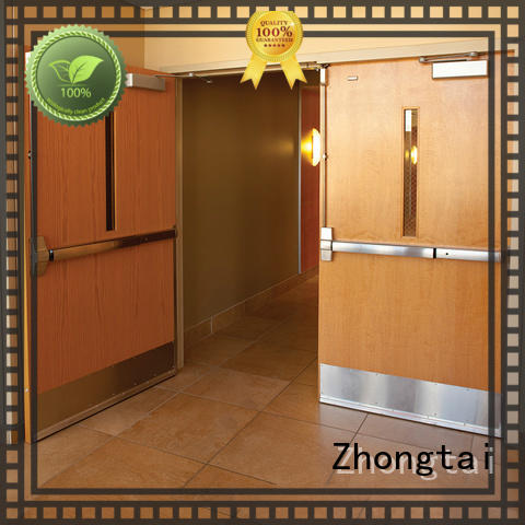 Zhongtai Wholesale garage fire door for sale for building