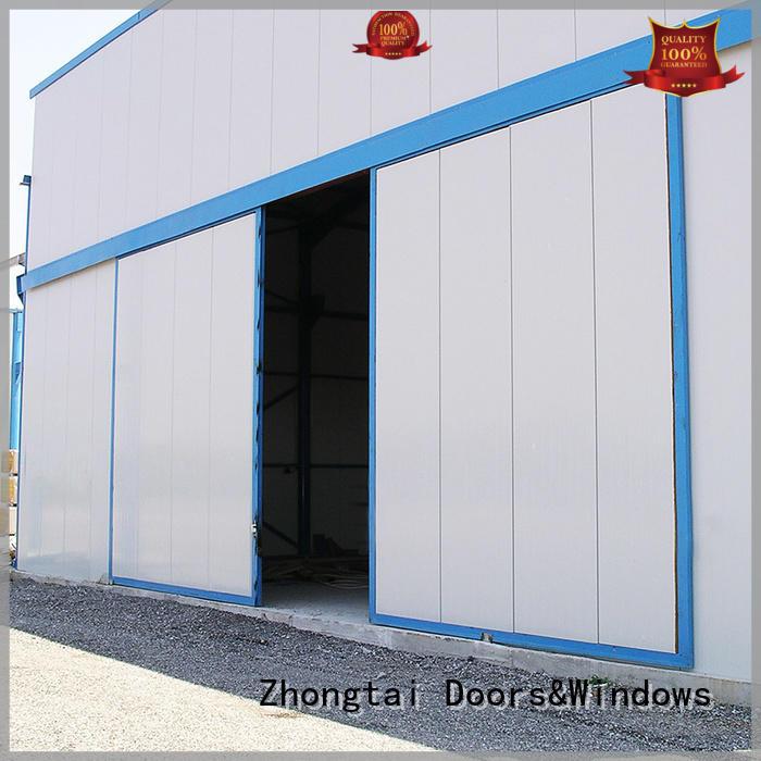 Zhongtai durable industrial sliding door suppliers for industries