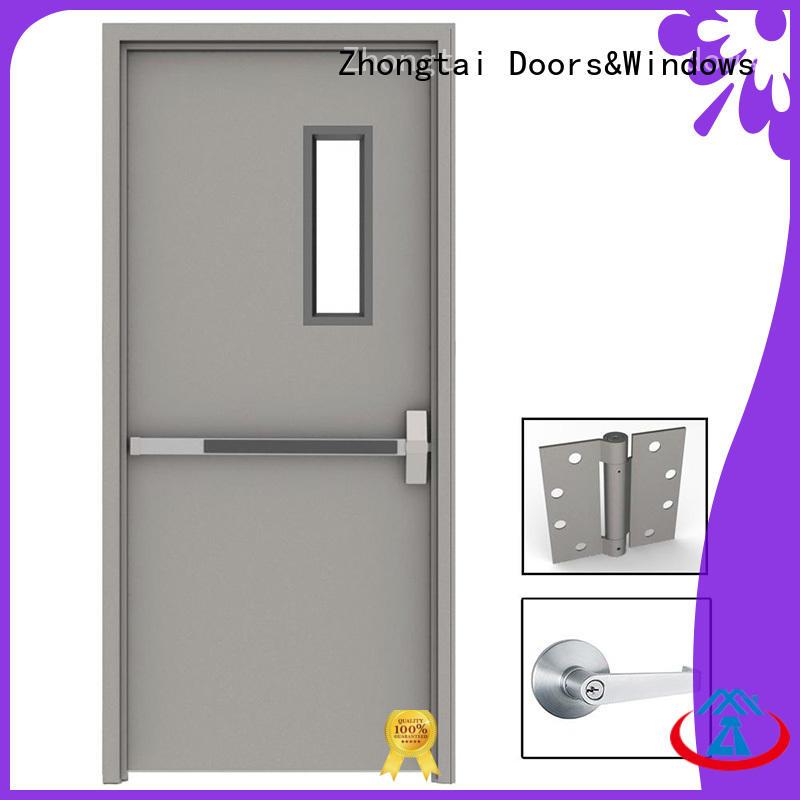Zhongtai Latest fire resistant door for business for indoor