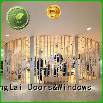 Zhongtai door folding door for business for shop