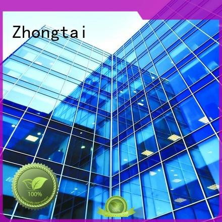 Zhongtai Best glass curtain supply for buliding