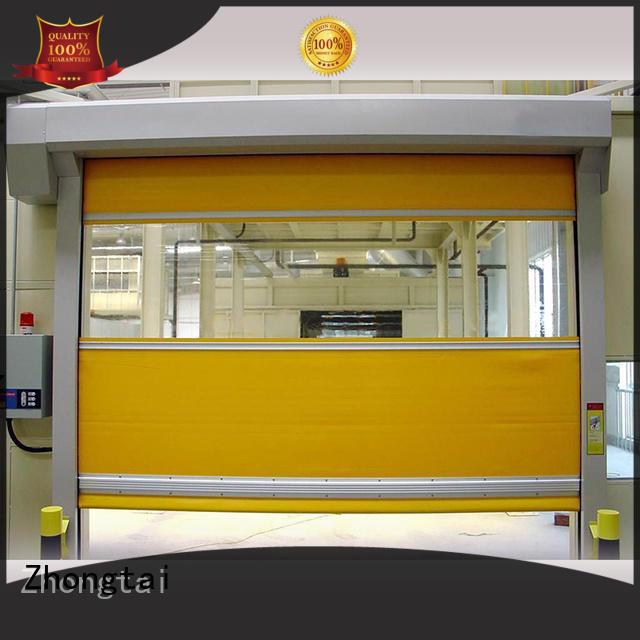 Zhongtai opening high speed doors suppliers for logistics center
