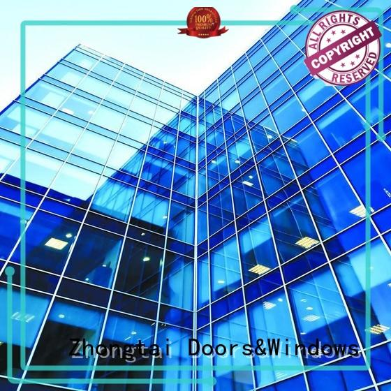 clear glazed curtain wall manufacturer for office