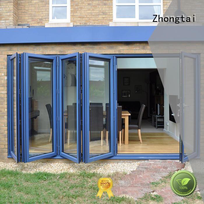 Zhongtai sound Aluminium Folding Door company for house