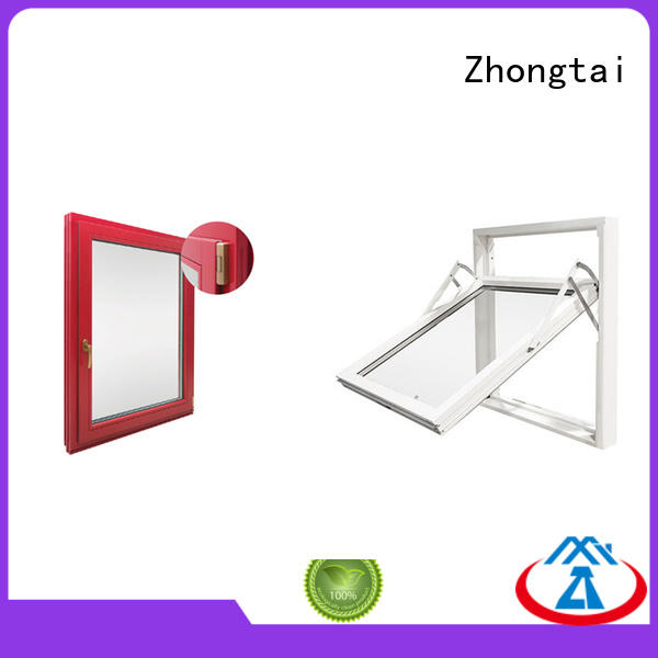 high quality professional fire rated windows cost Zhongtai manufacture
