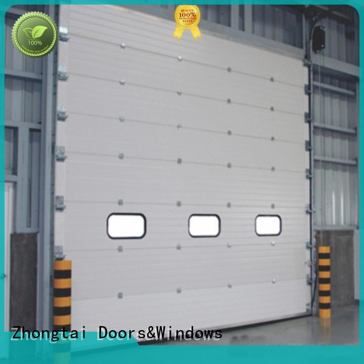 Zhongtai customize industrial roller shutter doors manufacturers for warehouse