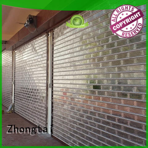 Zhongtai surface shop roller shutters company for clothing store