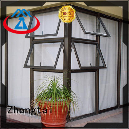 Zhongtai Latest aluminium window factory for villa