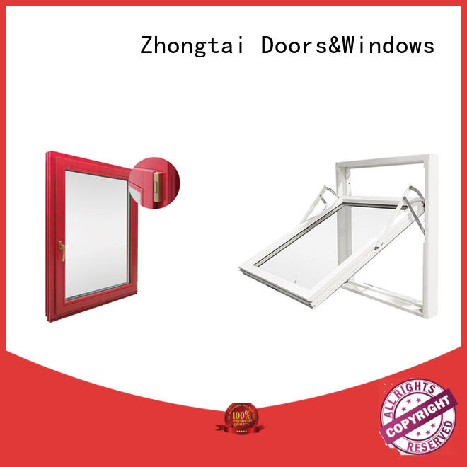 Zhongtai steel fire window manufacturers for indoor