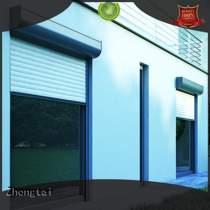 Quality Zhongtai Brand aluminum roller shutter exit